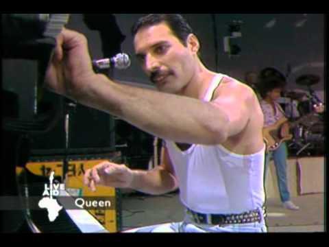 Queen   Bohemian Rhapsody + Radio Gaga Live Aid 1985