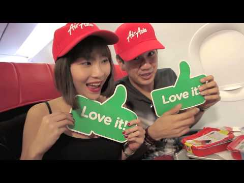 Sonia & Joakim head to Bali with AirAsia