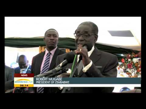 Mugabe says his long life in 'God's hands'