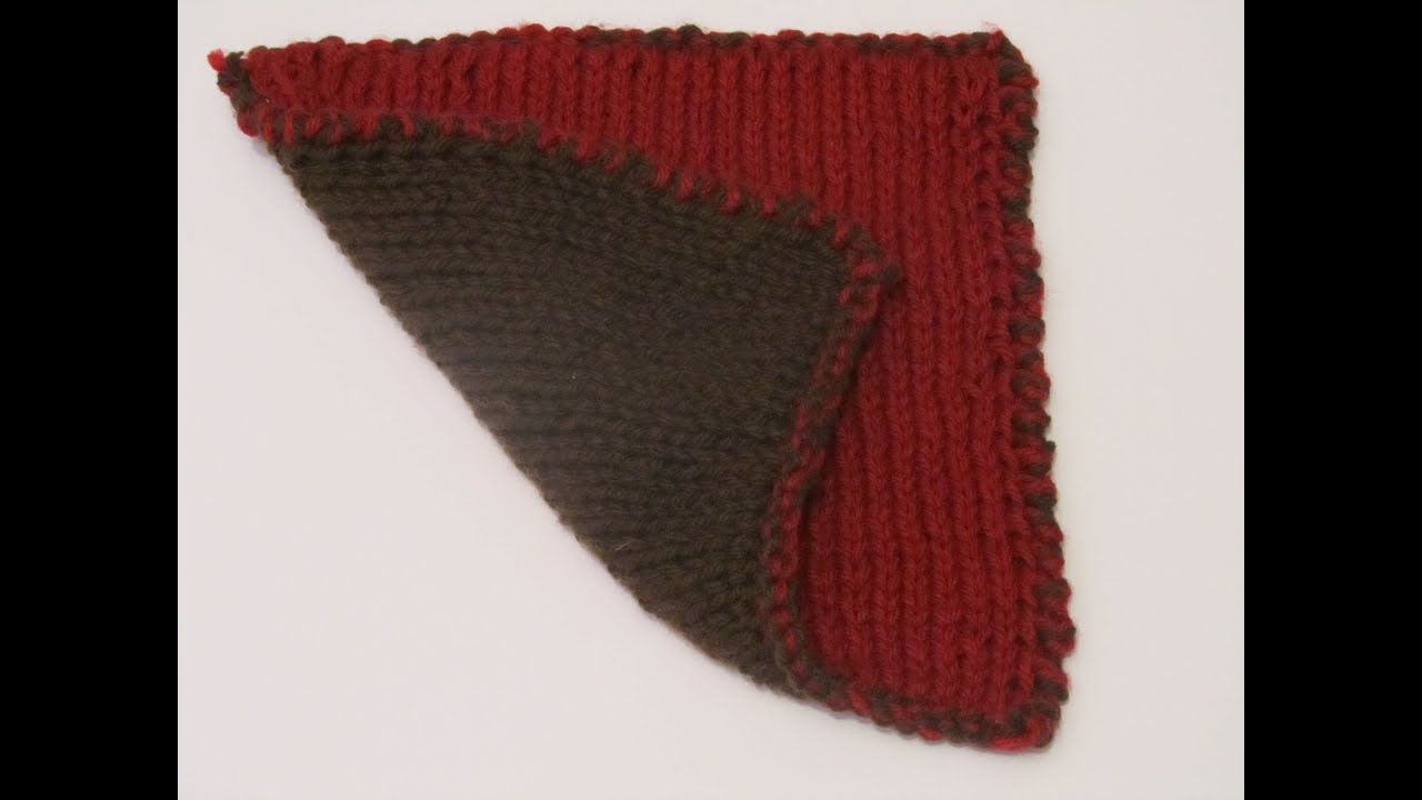 Colorwork: Double Knitting Tutorial - YouTube