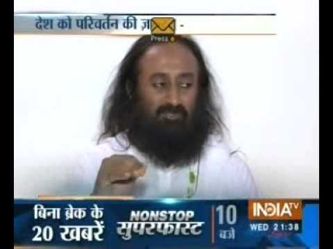 Sri Sri on 2014 elections - India TV interview