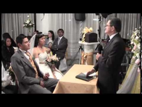 Matrimonio ceremonia cristiana
