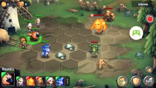 Heroes Tactics Heroic stage 1-6 3* F2P