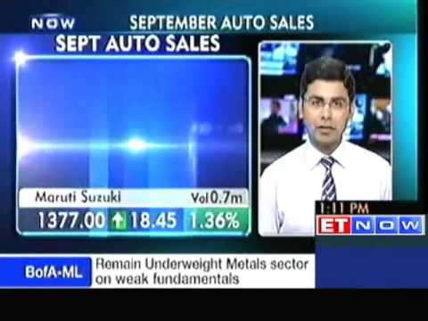 Maruti Suzuki sales up 12 per cent in September