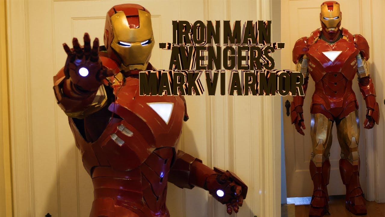 iron man mark 6 costume homemade foam avengers armor