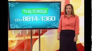Assista ao Jornal da Alterosa 1� Edi��o - 17/10/2014