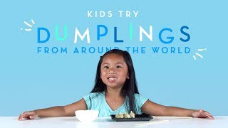 Kids Try Dumplings from Around the World   Kids Try   Cut