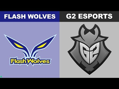 FW vs G2 - Worlds 2018 Group Stage Day 6 - Flash Wolves vs G2 Esports