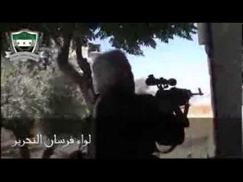 18+ Syria   Jericho Rebels  Greet  Assad Army Convoy With Heavy Firepower Idlib