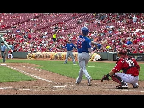 CHC@CIN: Coghlan's solo shot puts Cubs on the board