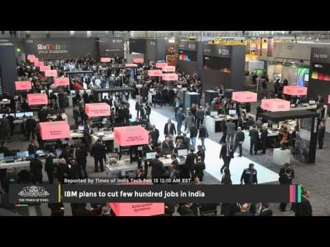 IBM Plans To Cut Few Hundred Jobs In India