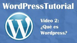Aprende Wordpress desde el inicio -- 2