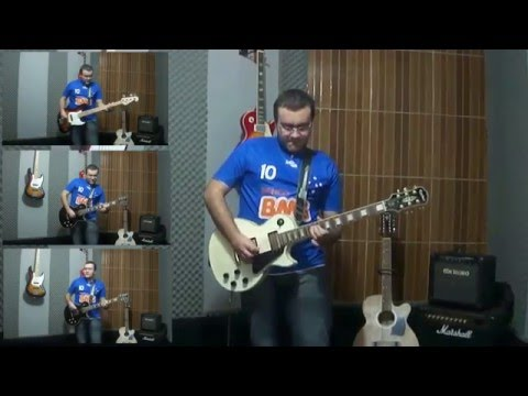 Hino do Cruzeiro na guitarra - Caique Sousa