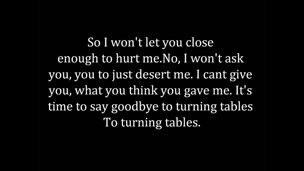 Adele turning tables lyrics youtube - Turning tables adele traduction ...