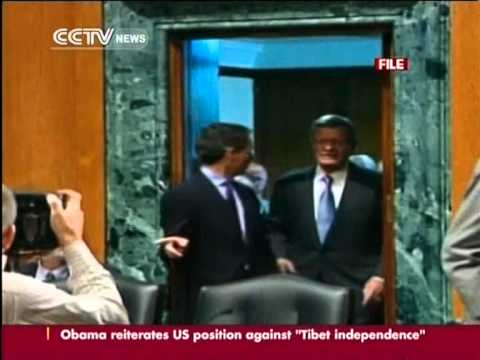 Former US Senator Max Baucus sworn in as new ambassador to China