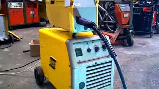 ESAB LAX 320 MIG Welding Machine With ESAB MEK Wire Feed