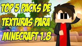 Top 5 Pack De Texturas Para Minecraft 1.8 Mas Descargas En