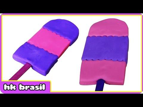 Massinha Sorvete - Play Doh Ice Cream - Sorvete De Massinha Play Doh By HooplaKidz Brasil