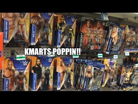 D-Generation X 2pk! WWE Series 44! KMART Wrestling Figure Aisle MATTEL MANIA! CO KANE!