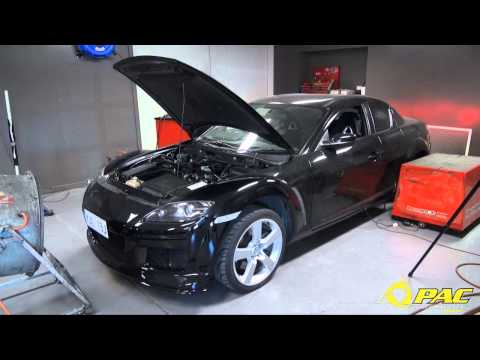 Pac Performance 'Project 500' Turbo RX8 hits the dyno for the first time