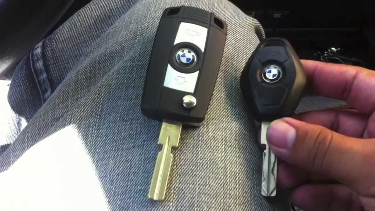 Bmw E39 Folding Flip Key Case Shell Refit Youtube
