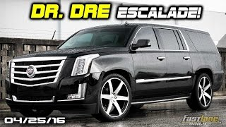 Dr. Dre's $200k Escalade, New Mercedes-AMG Supercar, 1.1M Chrysler Recalls - Fast Lane Daily