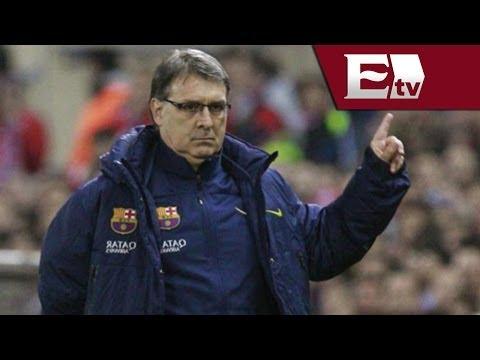 Gerardo Martino DT de Barcelona habla del partido contra el Atlético de Madrid / Adrenalina