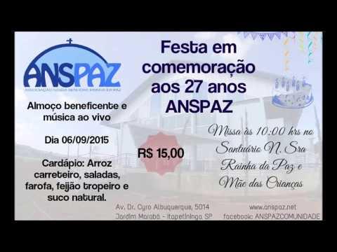 Convite ANSPAZ 27 anos