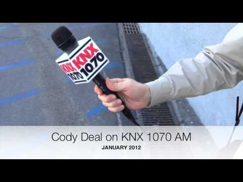 Cody deal on knx 1070 am news radio youtube for Knx 1070