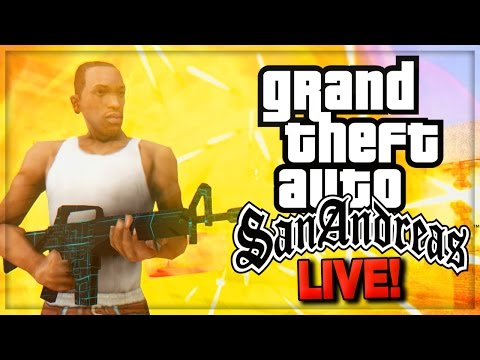GTA: San Andreas Remastered Missions ! & GTA Online (GTA 5 Online Gameplay)