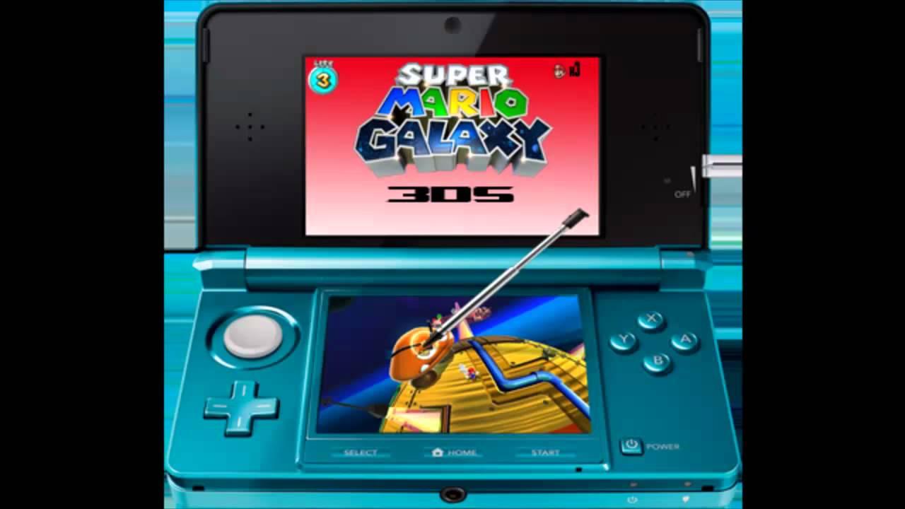 Speedart: Super Mario Galaxy 3DS - YouTube