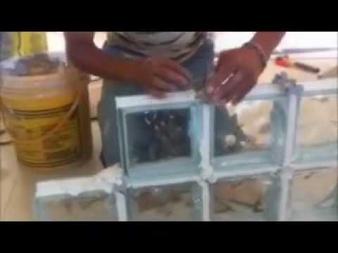 tijolos de vidros blocos de vidro