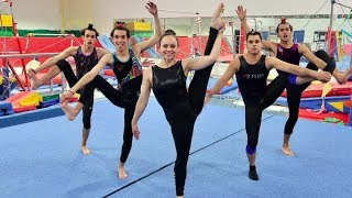 FUNNY GYMNASTICS COMPETITION!