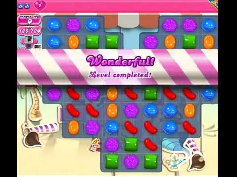 How to beat Candy Crush Saga Level 116 - 1 Stars - No Boosters - 125