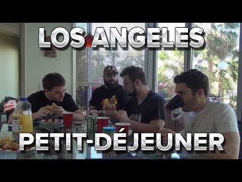 Los Angeles #8 : Petit-déjeuner et jeux.