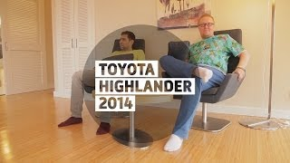 Toyota Highlander 2014 - Большой тест-драйв (видеоверсия) / Big Test Drive - Тойота Хайлендер