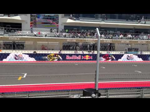 Marc Marquez Wins his first MotoGP race in Austin, TX