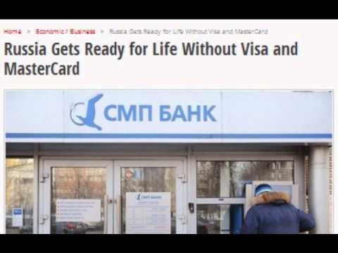 Russia Gets Ready for Life Without Visa and MasterCard