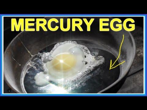 Thí Nghiệm Cho Trứng Vào Thủy Ngân Và Cái Kết :o