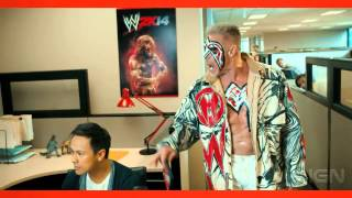 WWE 2K14 Ultimate Warrior Trailer