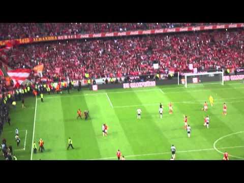 Benfica 2 - 0 Olhanense Festa final do jogo 20/04/2014