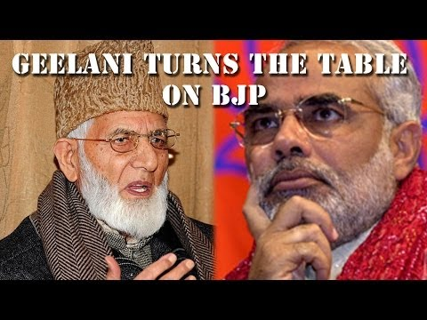 Ask Modi the BJP emissary names, says Hurriyat leader Geelani