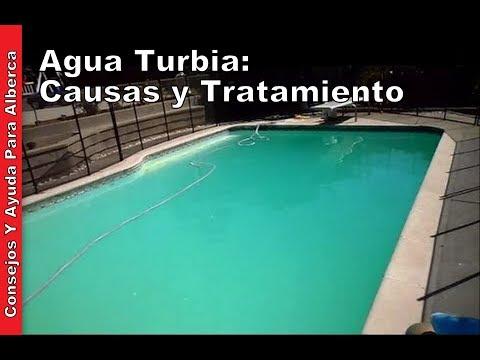 Agua turbia causas y tratamiento youtube - Agua de la piscina turbia ...