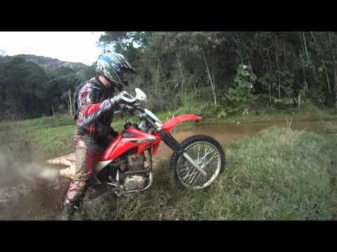 Trilha de Moto - Cascata Conde d'Eu