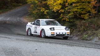 Nissan 240SX, Co-Driving in a Rallysprint -- /MY LIFE AS A RALLYIST. Drive Youtube Channel.