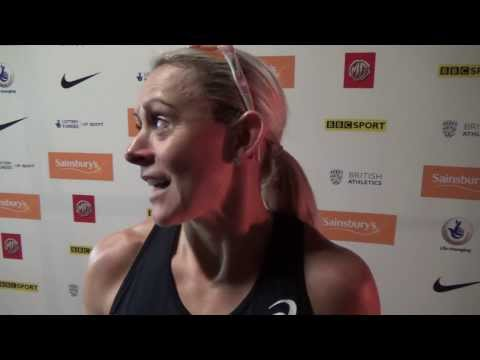 Jenny Meadows at the Sainsbury's Indoor Grand Prix | Eightlane.org