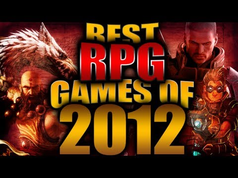 Best RPG Games of the Year 2012
