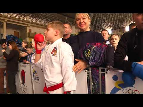 Lviv Open Cup 2018/03/24 Kumite Male 10-11 years 44+ kg Tarasenko Artem Bronze Medal Tigrenok