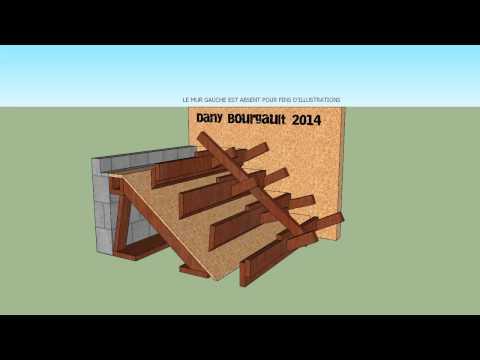 Coffrage d'escalier de béton  / Concrete stairs (animation)
