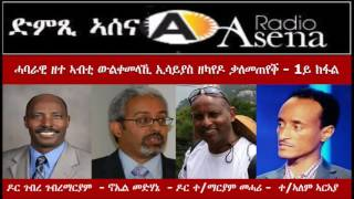 <Voice of Assenna: Panel Discussion on Isaias Afewerki&#039;s&#039; recent Interview - Part 1